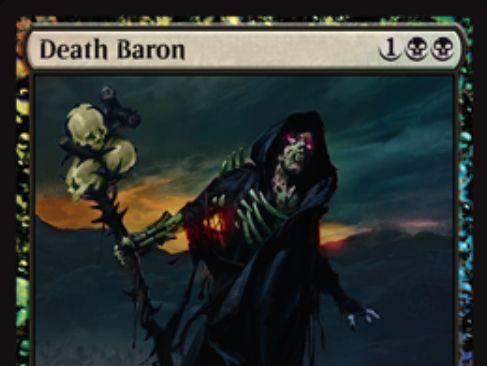 【基本セット2019】死の男爵(Death Baron)が「アラーラの断片」より再録!GPベガスにてプロモ版が配布!