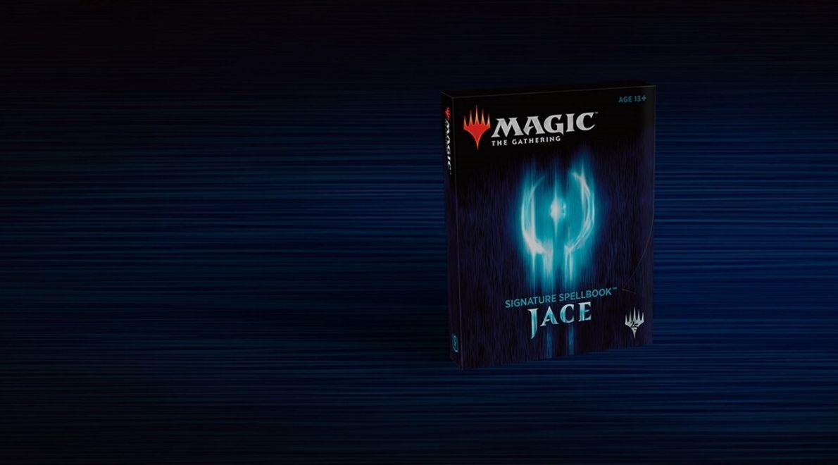 Signature Spellbook「Jace」が本日発売!PW「ジェイス」の関連カードが詰め合わせ!