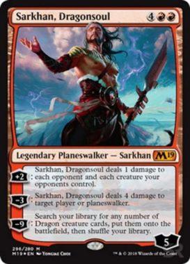 Sarkhan, Dragonsoul(基本セット2019 プレインズウォーカーデッキ)英語版