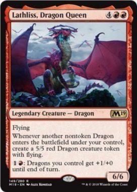 Lathliss, Dragon Queen(基本セット2019 英語版)