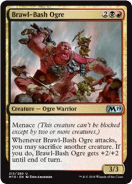 Brawl-Bash Ogre(基本セット2019)英語版