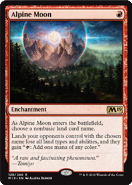 Alpine Moon(基本セット2019)英語版