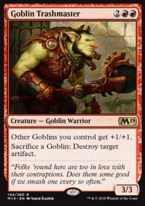 Goblin Trashmaster(基本セット2019)英語版