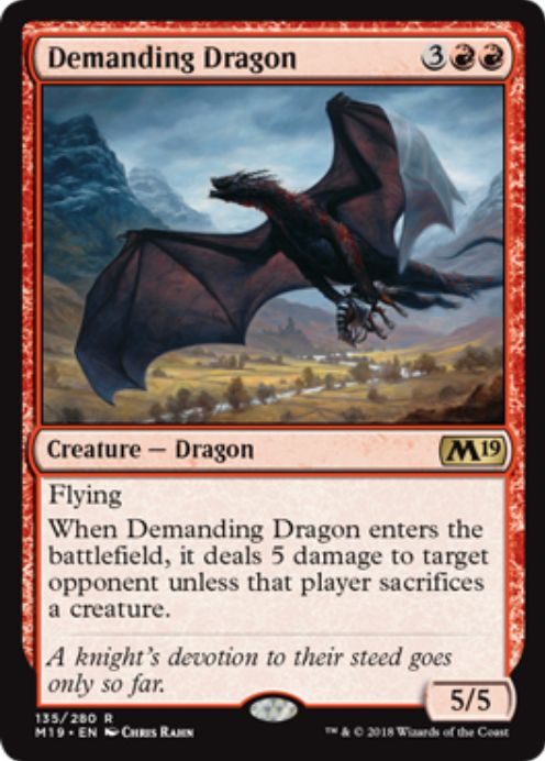 Demanding Dragon(基本セット2019)