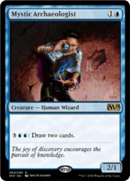 Mystic Archaeologist(基本セット2019)