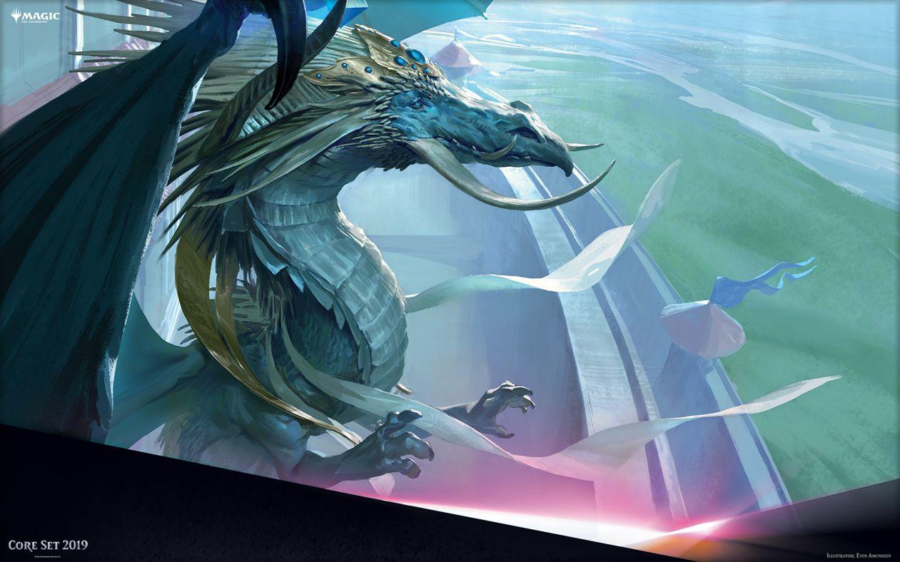 【基本セット2019】策略の龍、アルカデス(Arcades, the Strategist)がMTG公式壁紙のラインナップに追加!