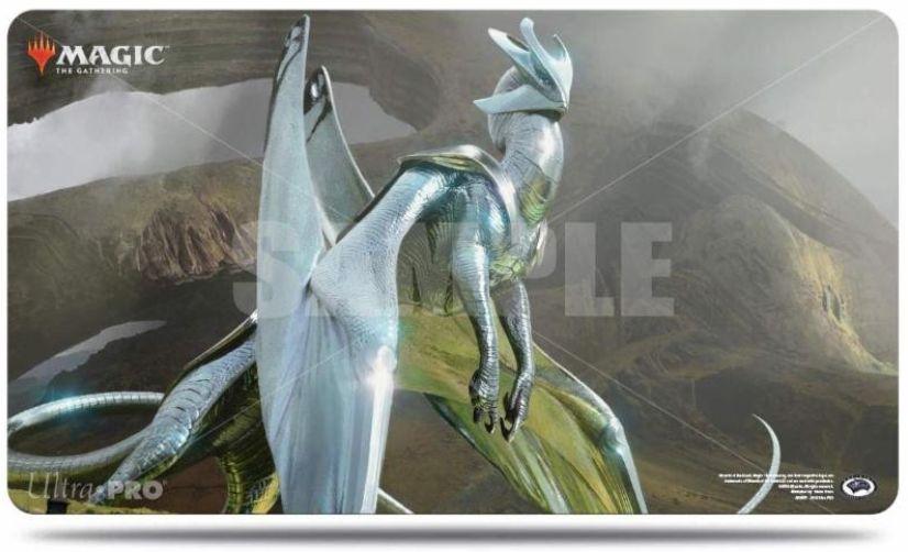 【プレイマット】変遷の龍、クロミウム(基本セット2019)のMTG公式プレイマットがウルトラプロより発売決定!
