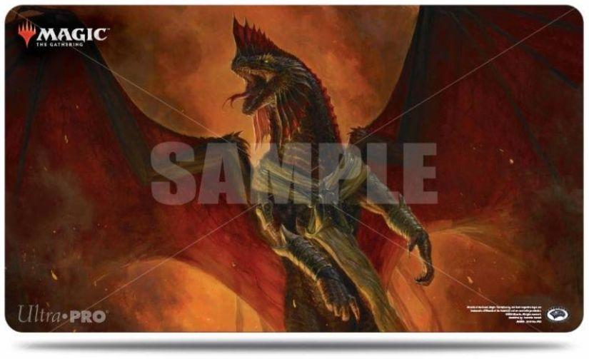 【プレイマット】暴虐の龍、アスマディ(基本セット2019)のMTG公式プレイマットがウルトラプロより発売決定!