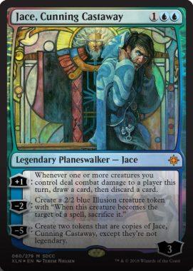 Jace, Cunning Castaway(狡猾な漂流者、ジェイス):SDCC'18 – COMICON