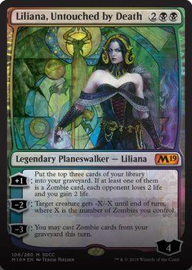 Liliana, Untouched by Death(死が触れぬ者、リリアナ):SDCC'18 – COMICON