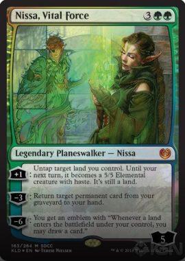 Nissa, Vital Force(生命の力、ニッサ):SDCC'18 – COMICON