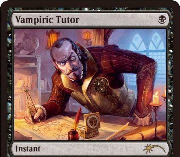 吸血の教示者(Vampiric Tutor)の新規アート版カードがジャッジ褒賞プロモとして登場!