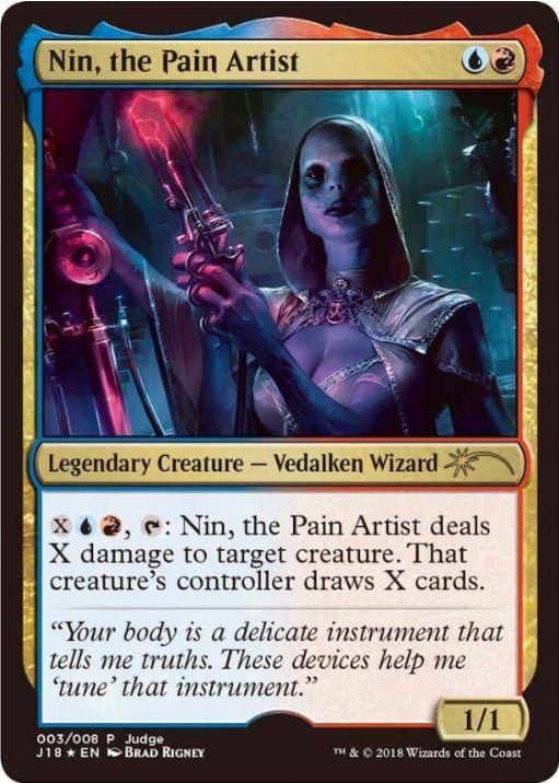 苦痛の芸術家、ニン/Nin, the Pain Artist(ジャッジ褒賞プロモ)