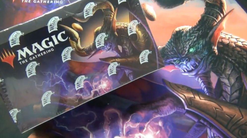 基本セット2019のボックス開封動画がYouTubeチャンネル「新米MTG」様にて公開!プレリ先行販売ボックスの発売日前開封動画!