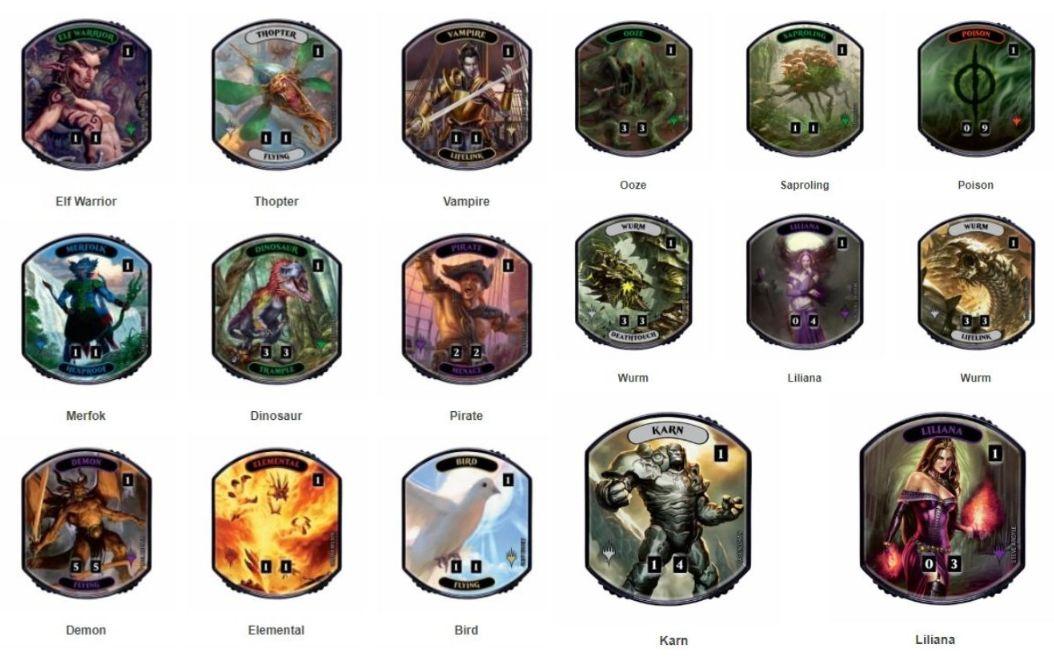 レリックトークン第2弾「リネージュコレクション」が発売決定!リリアナやカーン、ワームとぐろエンジンがレリックトークンに!
