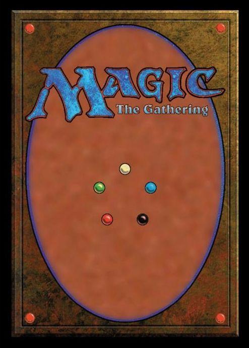 ウルトラプロ「MTGカード裏面デザイン」のスリーブ