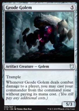 Geode Golem(統率者2018)