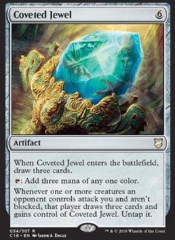 Coveted Jewel(統率者2018 収録)