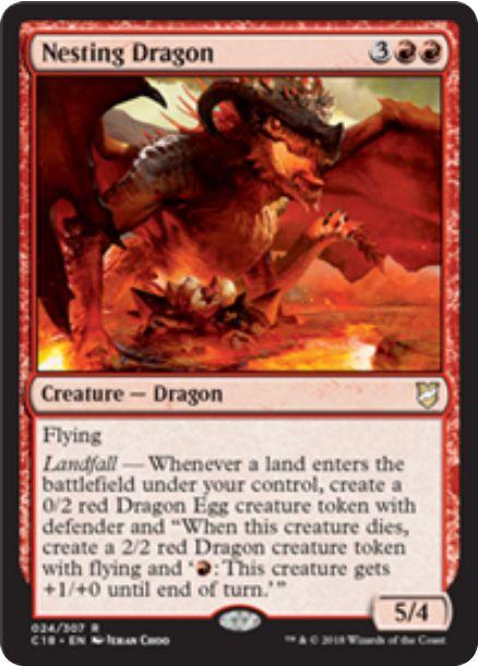 Nesting Dragon(統率者2018)