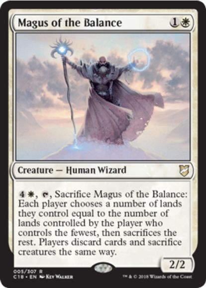 Magus of the Balance(統率者2018)