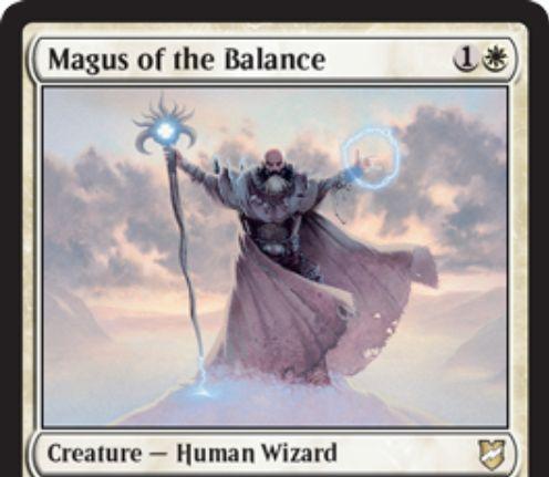 【統率者2018】白ウィザード「Magus of the Balance」が公開!ソーサリー「天秤」を内蔵した大魔術師クリーチャー!