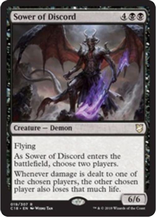 Sower of Discord(統率者2018)