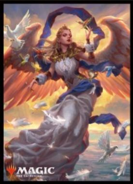【スリーブ】暁の天使(基本セット2019)のMTG公式スリーブがエンスカイより発売決定!コモンの美麗天使カード!