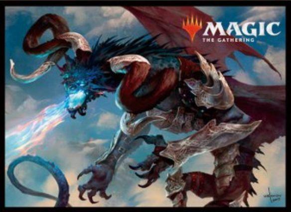 【スリーブ】殲滅の龍、パラディア=モルス(基本セット2019)のMTG公式スリーブがエンスカイより発売決定!