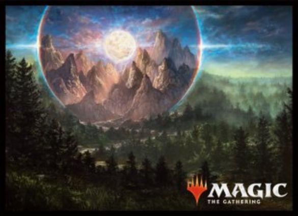 【スリーブ】高山の月(基本セット2019)のMTG公式スリーブがエンスカイより発売決定!