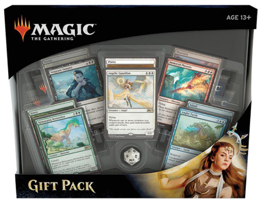 MTG「Gift Pack 2019」の情報が公開!5枚のFOIL土地と5枚の限定クリーチャーが封入!