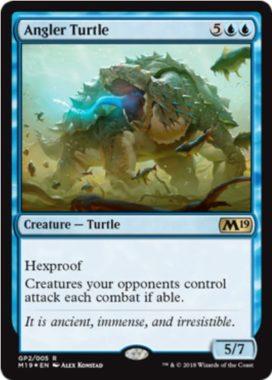 Angler Turtle(MTG「Gift Pack 2019」収録)
