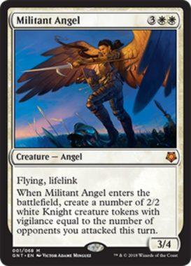 Militant Angel(MTG「Magic Game Night」新規収録)