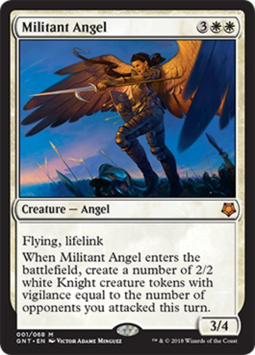 Militant Angel(MTG「Magic Game Night」新規収録)