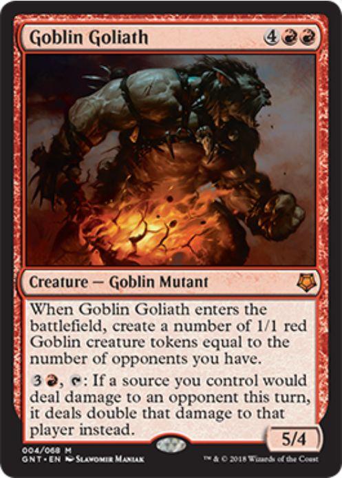 Goblin Goliath(MTG「Magic Game Night」新規収録)