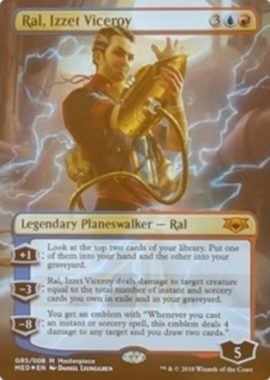 Ral, Izzet Viceroy:Mythic Edition