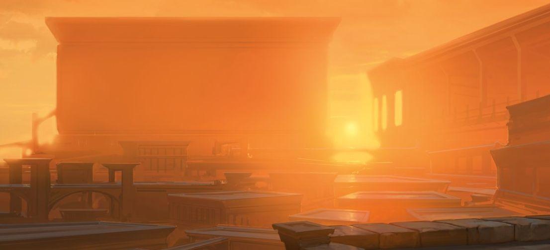 【ラヴニカのギルド】ギルド・キット「ボロス」に収録される「山」が公開!テキスト枠に「ボロス」のギルドデザインが追加された美麗土地!