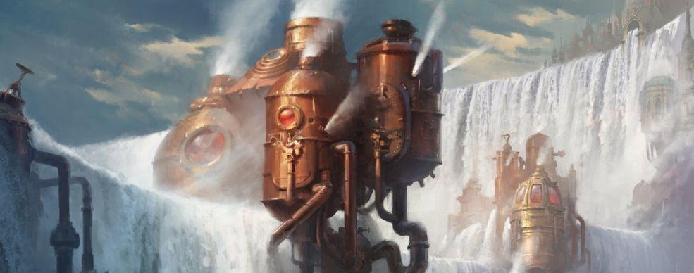島(収録:ギルド・キット イゼット)が公開!機械で作られた人工島のアート!