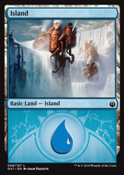 島(収録:ギルド・キット イゼット)カード画像