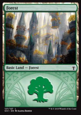 森(収録:ギルド・キット セレズニア)カード画像