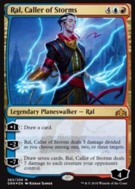 Ral, Caller of Storms(プレインズウォーカーデッキ「ラル」収録)英語版