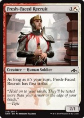 Fresh-Faced Recruit(ラヴニカのギルド)英語版