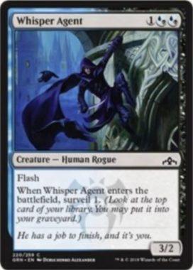 Whisper Agent(ラヴニカのギルド)英語版
