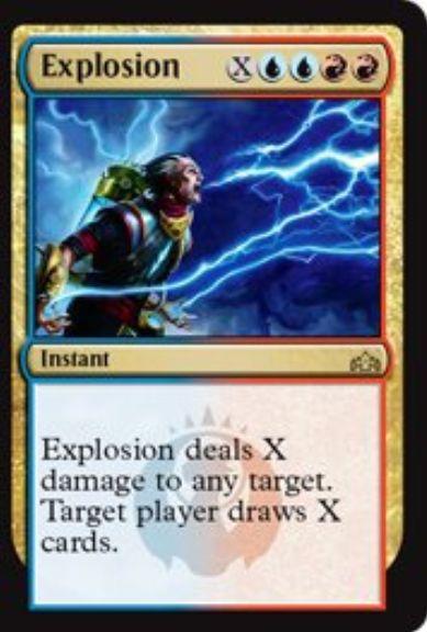 Explosion(ラヴニカのギルド)分割インスタント
