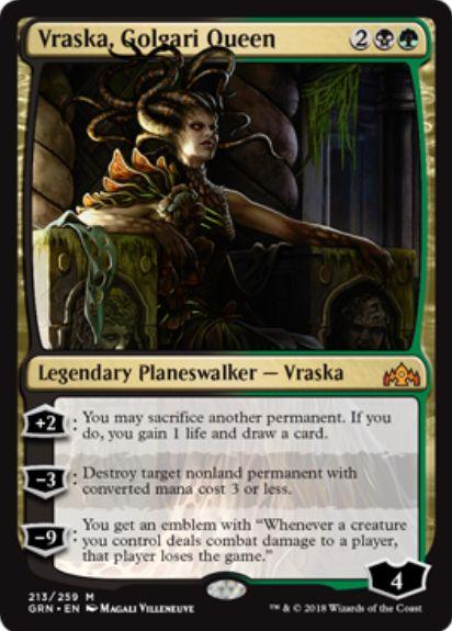 Vraska, Golgari Queen(ラヴニカのギルド)英語版