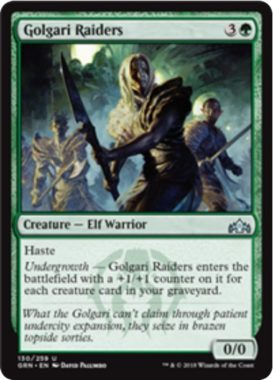 Golgari Raiders(ラヴニカのギルド)英語版