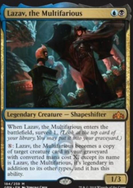 Lazav, the Multifarious(ラヴニカのギルド)英語版