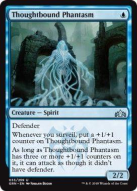 Thoughtbound Phantasm(ラヴニカのギルド)英語版