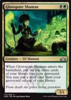 Glowspore Shaman(ラヴニカのギルド)英語版
