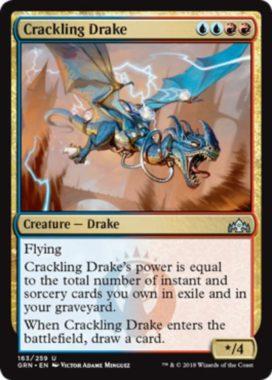 Crackling Drake(ラヴニカのギルド)英語版