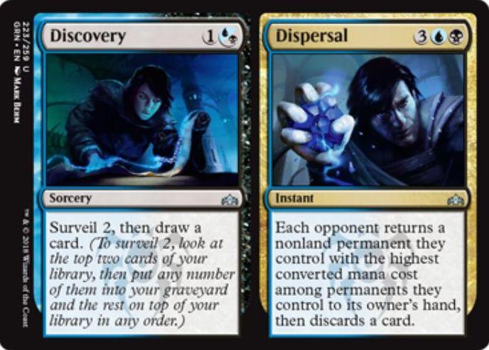 Discovery/Dispersal(ラヴニカのギルド)英語版